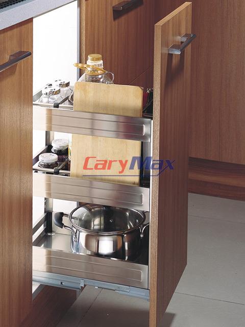 Giá để dao thớt trong tủ bếp - inox 304 nhập khẩu dạng hộp