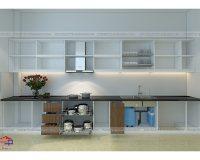 Giá để xoong nồi tủ dưới – giải pháp hoàn hảo để có một căn bếp gọn gàng tức thì