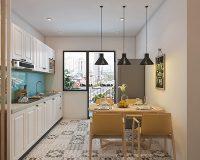 Nhà bếp 12m2 gọn gàng và tiện ích bất ngờ với cách thiết kế thông minh