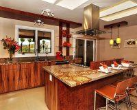 Nhà bếp đá hoa cương và những lợi ích của đá hoa cương cho thiết kế nhà bếp