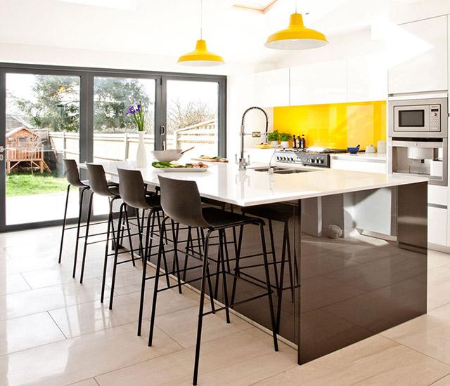 Vẻ đẹp bóng sáng như gương từ chất liệu gỗ acrylic An Cường mang đến cho gia đình một không gian sống hoàn toàn khác biệt