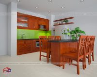 Phòng bếp cho nhà nhỏ tiện dụng, đẹp ngất ngây