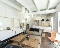 Phòng khách bếp nhỏ cho không gian cực kỳ thông thoáng, tiện nghi