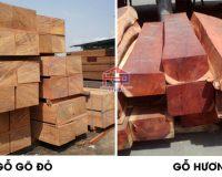 Gỗ gõ đỏ và gỗ hương loại nào tốt hơn? – Nội thất Hpro