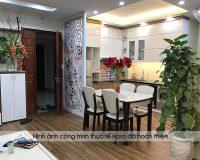 Hơn 10 mẫu vách ngăn phòng khách và bếp bằng tường tuyệt đẹp tại Hpro