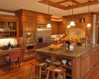 Nhà bếp gỗ căm xe có mang đến vẻ sang trọng lịch lãm cho ngôi nhà của bạn