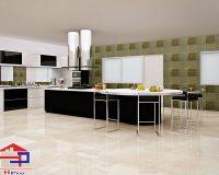 Nhà bếp lát gạch màu gì để hợp phong thủy cũng như thẩm mỹ