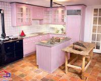 Nhà bếp màu hồng – Tổng hợp một vài mẫu thiết kế hớp hồn các chị em