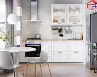 Nhà bếp màu trắng – Ý tưởng thiết kế không gian nhà bếp thanh lịch hiện đại