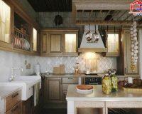 Nhà bếp truyền thống – Những yếu tố tạo nên thiết kế nhà bếp truyền thống