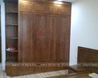 Đóng tủ quần áo bằng gỗ tự nhiên Bền Đẹp trên 15 năm chỉ có tại Hpro