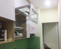 Những công trình sử dụng giá úp bát 2 tầng cho tủ bếp
