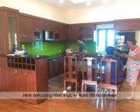 Thi công tủ bếp giá rẻ ở đâu đảm bảo chất lượng nhất