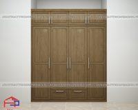 Tủ quần áo 3 buồng gỗ tự nhiên Bền Đẹp – Giá Tốt chỉ có tại Hpro