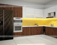 Khám phá bảng màu tủ bếp laminate An Cường