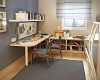 Thiết kế nội thất phòng ngủ 11m2 dành cho người lớn và trẻ nhỏ