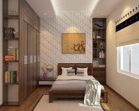 Thiết kế nội thất cho phòng ngủ 15m2 mang tính ứng dụng cao