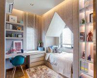 Những cách thiết kế nội thất phòng ngủ mini vô cùng dễ dàng