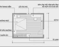 3 phương án thiết kế nội thất phòng ngủ 18m2 lý tưởng nhất