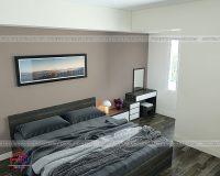 [Mách bạn] Thiết kế nội thất căn hộ 65m2 2 phòng ngủ tiện nghi ngoài mong đợi