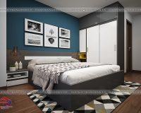 Ngắm mẫu thiết kế nội thất chung cư 2 phòng ngủ tuyệt đẹp, chỉ từ 100 triệu