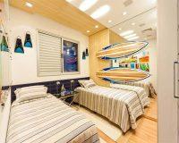 Thiết kế phòng ngủ 10m2 cho 2 bé sao cho phù hợp nhất
