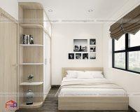 Thiết kế phòng ngủ 10m2 đơn giản mà vô cùng tiện nghi