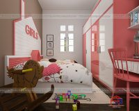 Thiết kế phòng ngủ đẹp cho hai bé gái chuẩn đẹp nhất