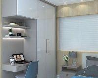 Thiết kế phòng ngủ dưới 10m2 đẹp từng centimet