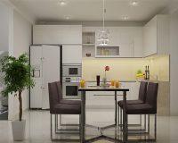 Cách bố trí và trang trí phòng bếp chung cư bạn nên biết sớm