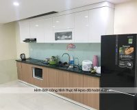 Thiết kế phòng bếp nhà ống 3m đẹp chuẩn chỉnh tại Hpro