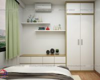 Chọn mẫu tủ quần áo cho phòng ngủ nhỏ và không gian nhà nhỏ