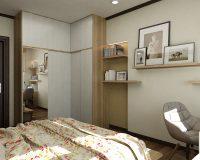 Mẫu tủ quần áo đẹp chữ l – Giải pháp hoàn hảo cho không gian nhỏ