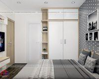 Chọn mẫu tủ quần áo gỗ ép 2 cánh cho gian ngủ nhỏ của bạn
