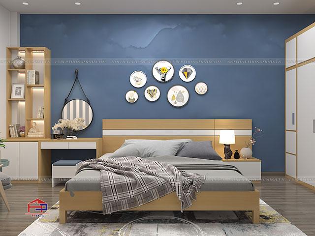 Giường ngủ GN110