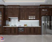 Tủ bếp gỗ óc chó TBOC115