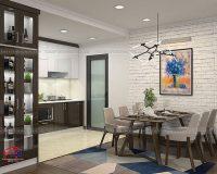 Những yếu tố không thể thiếu khi thiết kế không gian bếp hiện đại đẹp tiện nghi