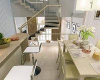 Thiết kế bếp trên tầng lửng – Nên hay không?