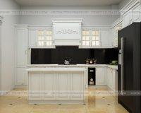 Thiết kế nội thất nhà bếp biệt thự tinh tế và đẳng cấp tại Hpro