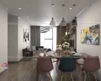 Bảng báo giá thiết kế thi công nội thất chung cư tại Nội Thất Hpro