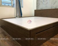 Công trình tủ bếp acrylic và nội thất gỗ An Cường nhà chị Thuận – Tp.Hưng Yên