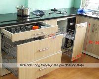 Thi công cánh tủ bếp – Hpro thi công tủ bếp giá rẻ, chất lượng cao