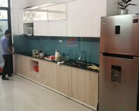 Làm tủ bếp nhựa laminate Thái Bình tại Hpro miễn phí thiết kế 100%