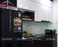 Công trình tủ bếp acrylic và nội thất gỗ An Cường nhà anh Thi – Green Bay Mễ Trì