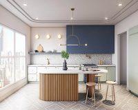 """Kiến trúc không gian bếp tiện nghi, sang trọng """"không lỗi mốt"""""""