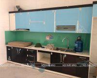 Công trình tủ bếp acrylic an cường nhà chú Hùng – Tp. Bắc Ninh