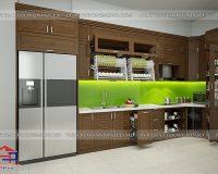 Mẫu tủ bếp có tủ lạnh hot nhất tại Hpro