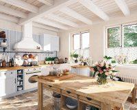 Cách bố trí nhà bếp đơn giản, đẹp hợp phong thủy mà bạn nên biết